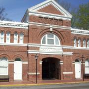 Thrall's Opera House Exterior