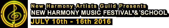 New Harmony Music Festival and School